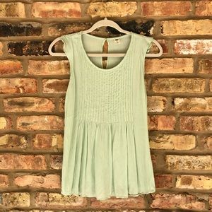 Old Navy Mint Green Sleeveless Blouse XS
